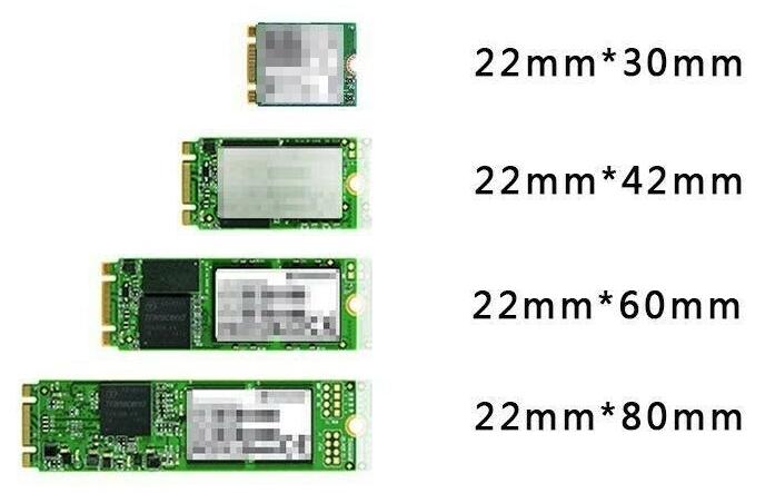 m.2 sizes
