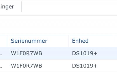 synology disk error